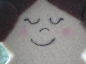Felt Doll Face1