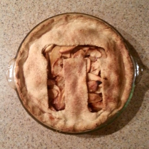 My pi pie, it's apple!