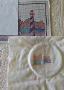 Lighthouse Embroidery (Medium)
