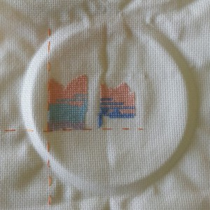 Closeup of My Stitches