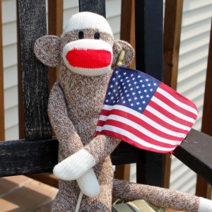 Sock Monkey Patriot