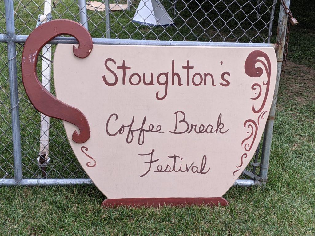 Coffee Break Fest Cup Sign